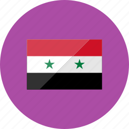 country, flag, flags, location, national, syria, world icon