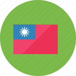 country, flag, flags, location, national, taiwan, world icon