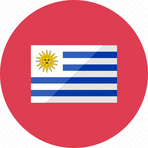 country, flag, flags, location, national, uruguay, world icon