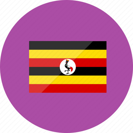 country, flag, flags, location, national, uganda, world icon