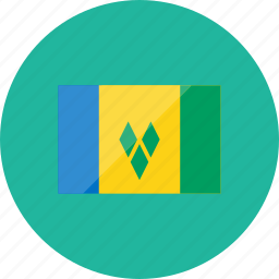 country, flag, flags, location, national, saint vincent and the grenadines, world icon