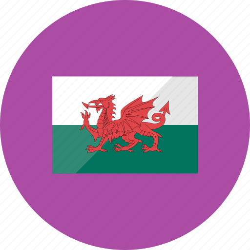 country, flag, flags, national, wales, world icon