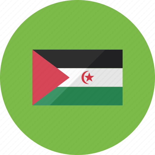 country, flag, flags, location, national, western sahara, world icon