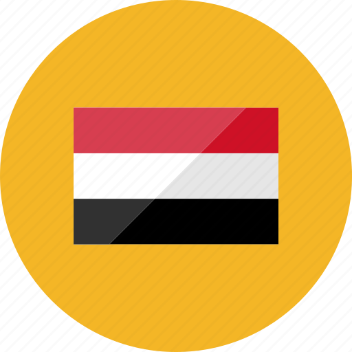 country, flag, flags, national, world, yemen icon