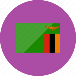 country, flag, flags, national, world, zambia icon