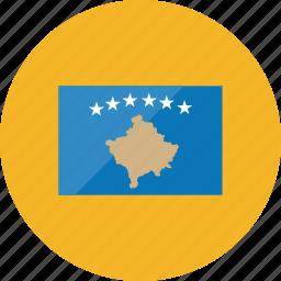 country, flag, flags, kosovo, national, world icon