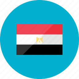 country, egypt, flag, flags, national, world icon