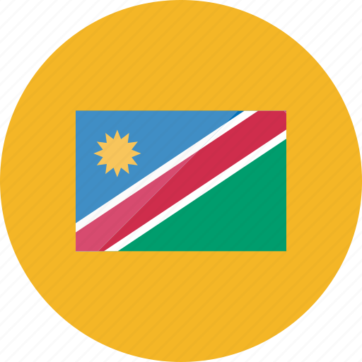 country, flag, flags, namibia, national, world icon