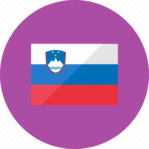 country, flag, flags, national, slovenia, world icon