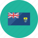 country, flag, flags, national, saint helena, world icon