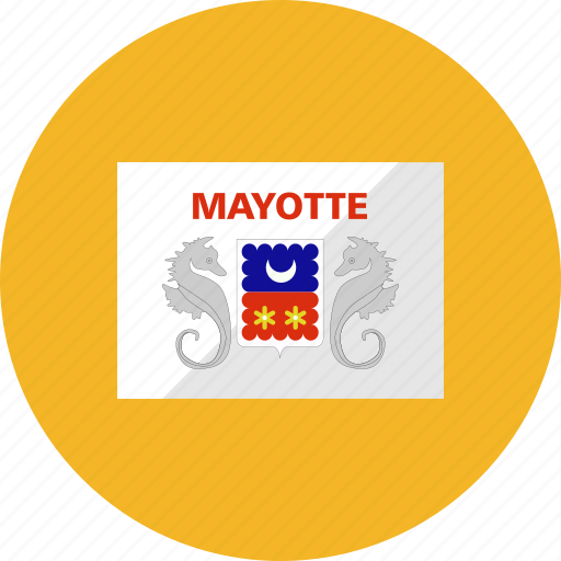 country, flag, flags, mayotte, national, world icon