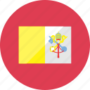 city, country, flag, flags, national, vatican, world icon