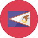 american samoa, country, flag, flags, location, national, world icon