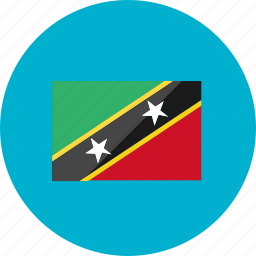 country, flag, flags, location, national, saint kitts and nevis, world icon