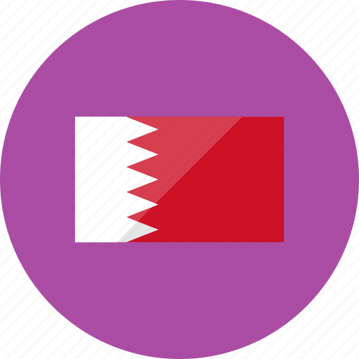 bahrain, country, flag, flags, location, national, world icon