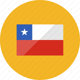 chile, country, flag, flags, location, national, world icon
