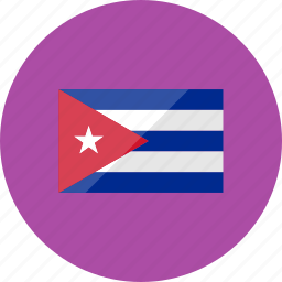 country, cuba, flag, flags, location, national, world icon