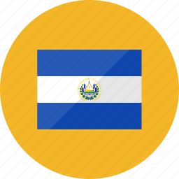 country, el salvador, flag, flags, location, national, world icon
