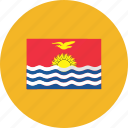 country, flag, flags, kiribati, location, national, world icon