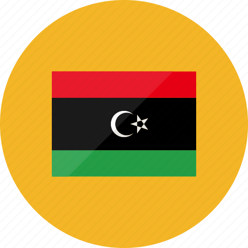 country, flag, flags, libya, location, national, world icon