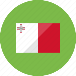 country, flag, flags, location, malta, national, world icon