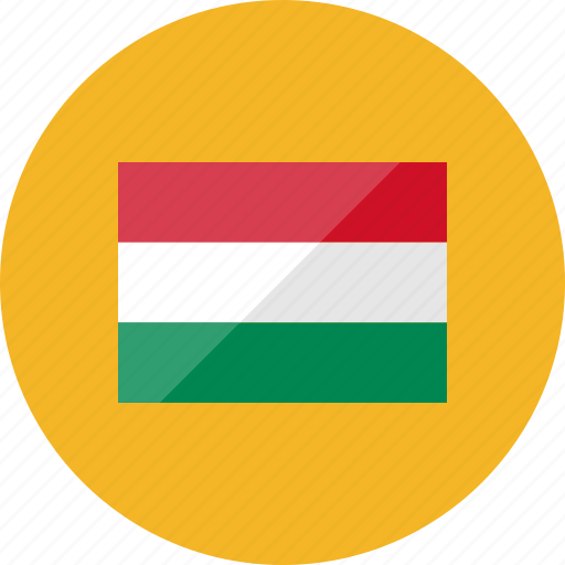 country, flag, flags, hungary, location, national, world icon