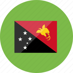 country, flag, flags, location, national, papua new guinea, world icon