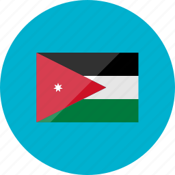 country, flag, flags, jordan, location, national, world icon