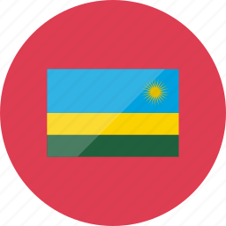 country, flag, flags, location, national, rwanda, world icon