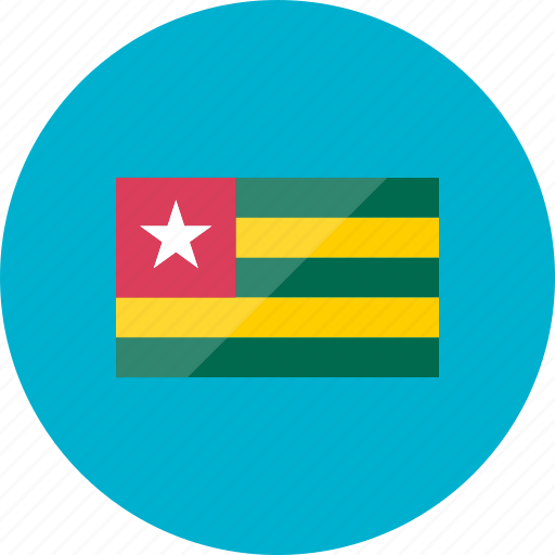 country, flag, flags, location, national, togo, world icon