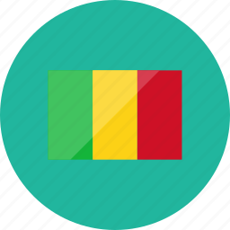 country, flag, flags, location, mali, national, world icon