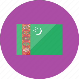 country, flag, flags, location, national, turkmenistan, world icon