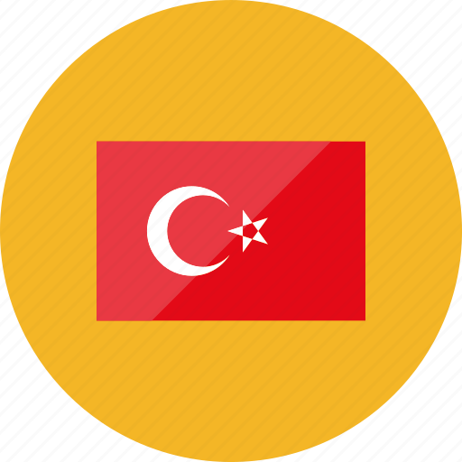 country, flag, flags, national, turkey, world icon