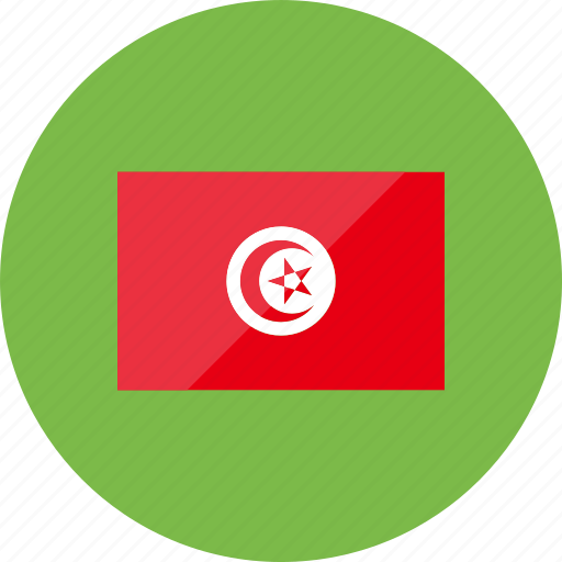 country, flag, flags, location, national, tunisia, world icon
