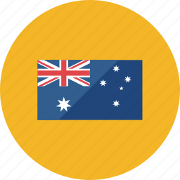 australia, country, flag, flags, location, national, world icon