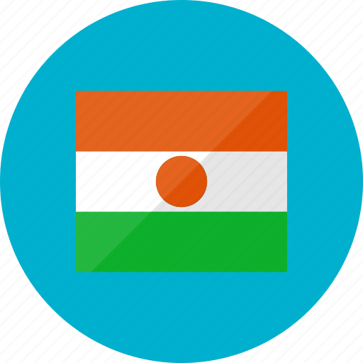 country, flag, flags, location, national, niger, world icon