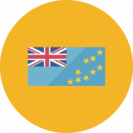 country, flag, flags, location, round, tuvalu, world icon