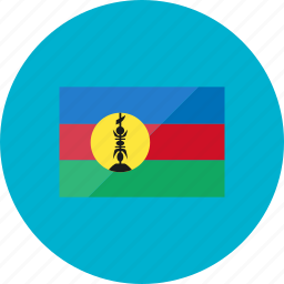 country, flag, flags, location, national, new caledonia, world icon