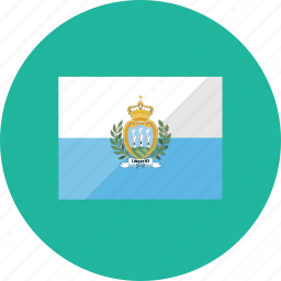 country, flag, flags, location, national, san marino, world icon