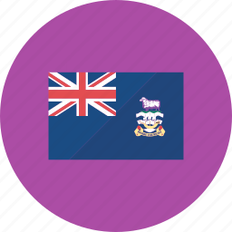 country, falkland islands, flag, flags, national, world icon