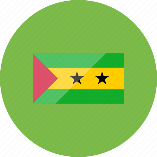country, flag, flags, location, national, sao tome and principe, world icon