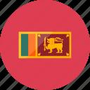 country, flag, flags, location, national, sri lanka, world icon