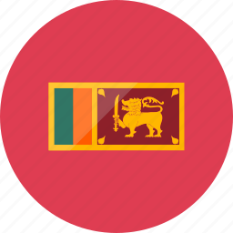 country, flag, flags, location, national, sri lanka, world icon