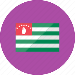 abkhazia, country, flag, flags, location, national, world icon