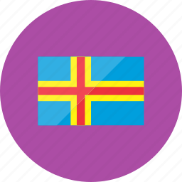 aland, country, flag, flags, location, national, world icon
