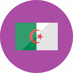 algeria, country, flag, flags, location, national, world icon