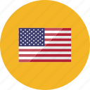 country, flag, flags, location, national, united states, world icon