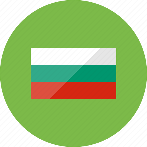 bulgaria, country, flag, flags, location, national, world icon