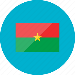 burkina faso, country, flag, flags, location, national, world icon