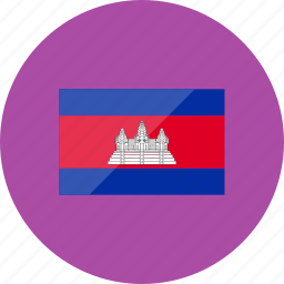 cambodia, country, flag, flags, location, national, world icon